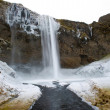 Seljalandsfoss waterfall — Stock Photo