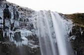 セリャラントスフォス滝 — ストック写真
