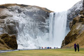 Skogafoss waterfall — Stock fotografie