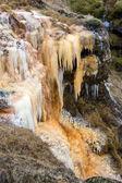 Waterfall of rusty iron — Stock Photo