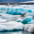 Stock Photo: Icebergs in Jokulsarlon