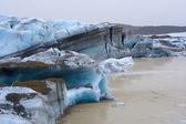 Skaftafellsjokull glacier — Stock Photo