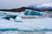 在 jokulsarlon 中的冰山 — 图库照片