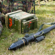Bazooka on ground - Stock Photo