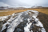 Pequeno rio na islândia — Foto Stock