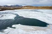 Rivier in ijsland — Stockfoto