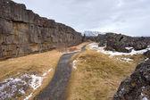 Parku narodowego pingvellir — Zdjęcie stockowe
