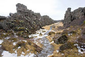 Pingvellir National Park — Stock Photo