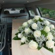 Coffin in car — Stock Photo #26315867