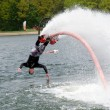 Flyboard demonstration — Foto de Stock