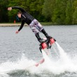 ストック写真: Flyboard demonstration