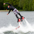Flyboard demonstration — Stock fotografie