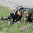 Stok fotoğraf: Armed special forces training