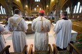 Mass in church — Stock Photo