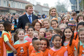 Queen Maxima and King Willem Alexander — Stock Photo