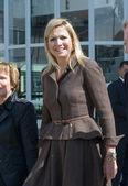 Royal Highness Princess Maxima — Stock Photo