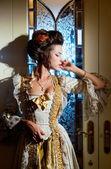 Dramatik aktris — Stok fotoğraf