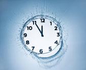 Designer clock — Stock Photo