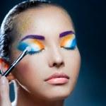 Festive makeup — Stock Photo