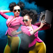 Dancing girls — Stock Photo
