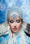Snow maiden — Stock Photo