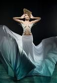 Fantástico vestido — Fotografia Stock
