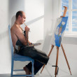 Stock Photo: Painter