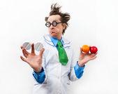 Amazed doctor — Stock Photo