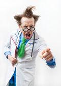 Doctor enojado — Foto de Stock