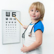 Stock Photo: Little doctor