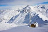 Mountain in winter — Stock Photo