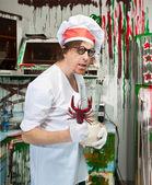 クレイジー料理 — ストック写真