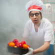 Funny chef — Stock Photo