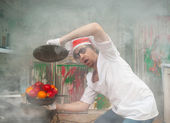 Crazy chef — Foto Stock