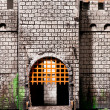 Gates of the fortress — Stock Photo