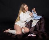 Belleza embarazada — Foto de Stock