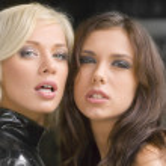 twee vriendinnen — Stockfoto