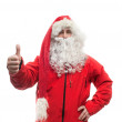 Portrait of Santa Claus — Foto Stock