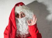 Portrait of Santa Claus — Stock Photo