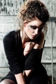 Sad woman — Stock Photo