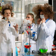 Crazy chemists — Stock Photo