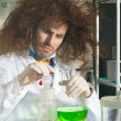 Stock Photo: Bizarre chemists