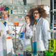 Bizarre chemists — Stock Photo #36802533