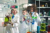 Bizarre chemists — Foto Stock