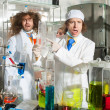Bizarre chemists — Stock Photo #37158877