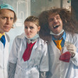 Bizarre chemists — Stock Photo #37158889