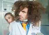 Bizarre chemist — Photo