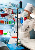 Chemical equipment — Stock Photo