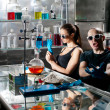 Stock Photo: Chemistry laboratory