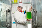 Funny chemist — Stock Photo